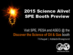 SPE SA Science Alive! Booth Preview